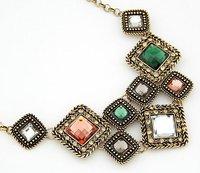 европа и сын стат Ross мода жемчужина инерции блок темперамент ожерелье