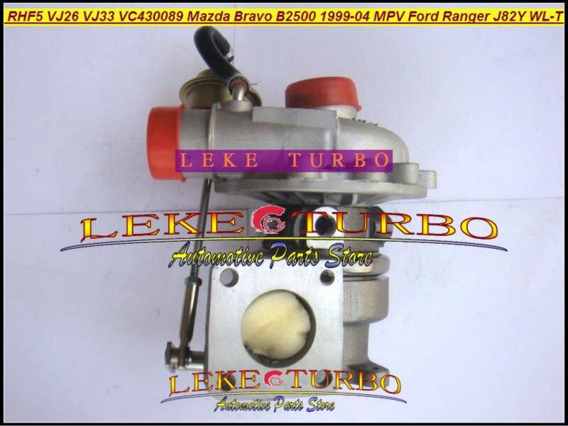 RHF5 VJ26 VJ33 WL84 VC430089 טורבו טורבינה מגדש טורבו עבור פורד ריינג ' ר עבור מאזדה בראבו B2500 MPV J82Y WL-T 115J97A 2.5 L 115HP