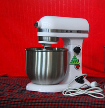 Planetary Mixer Stand Food Mixer, Egg,Cream,Flour Mixing Blender dough mixer with 5L