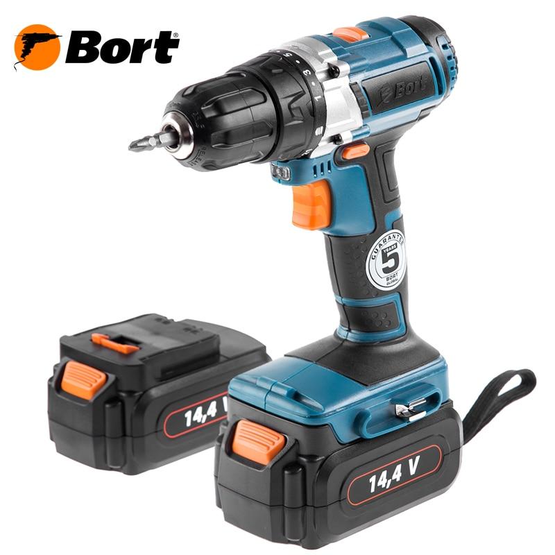 Cordless drill Bort BAB-14Ux2-FDK bort bab 10 8nx2li fdk