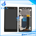1 piece free shipping replacement parts screen for Sony Xperia Z L36h LT36 C6603 lcd display with touch digitizer + frame
