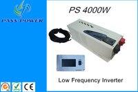 Низкочастотный инвертор 4000 Вт, 24 В 48 В низкий частотный преобразователь