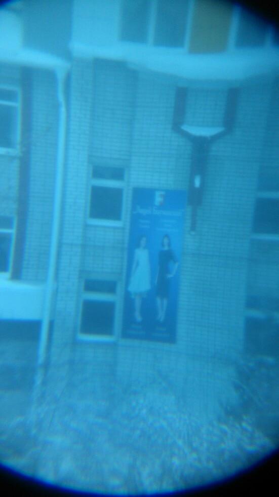 вроде норм()) ну обычная вещичка)), фото через данный монокуляр на расстоянии 150 метров, смотрите сами, но на улице днем изображение очень четкое