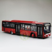 1:43 Scale China YuTong City Bus Coach Car Diecast Model Toys ZK6128HGK