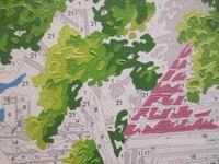безрамное DIY цифровой живописи маслом бесшовные крюк bountyless порошок 40 50см краска по количеству комплектов уникальный подарок для ребенка