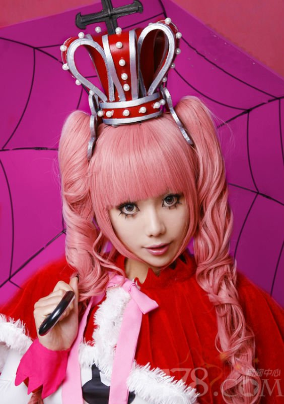 New Perona ONE PIECE Long Curly Pink Cosplay wig + 2 Ponytails + free gift  on Aliexpress.com  e3b67d900daf