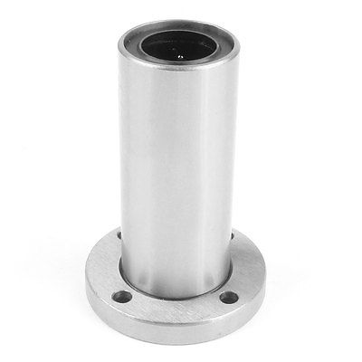 LMF20LUU 20mm x <font><b>32mm</b></font> x 80mm <font><b>Round</b></font> <font><b>Base</b></font> Linear Motion Ball Bearing Silver Tone image