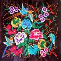 цветы и птицы вышивка ткань / бытовой играть роль пробован содержащих / хлопок / сделай сам корабль ткани