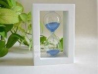 60 минут белый коробка синий песок из Reach часы творческий день рождения валентина подарки статьи обеспечения