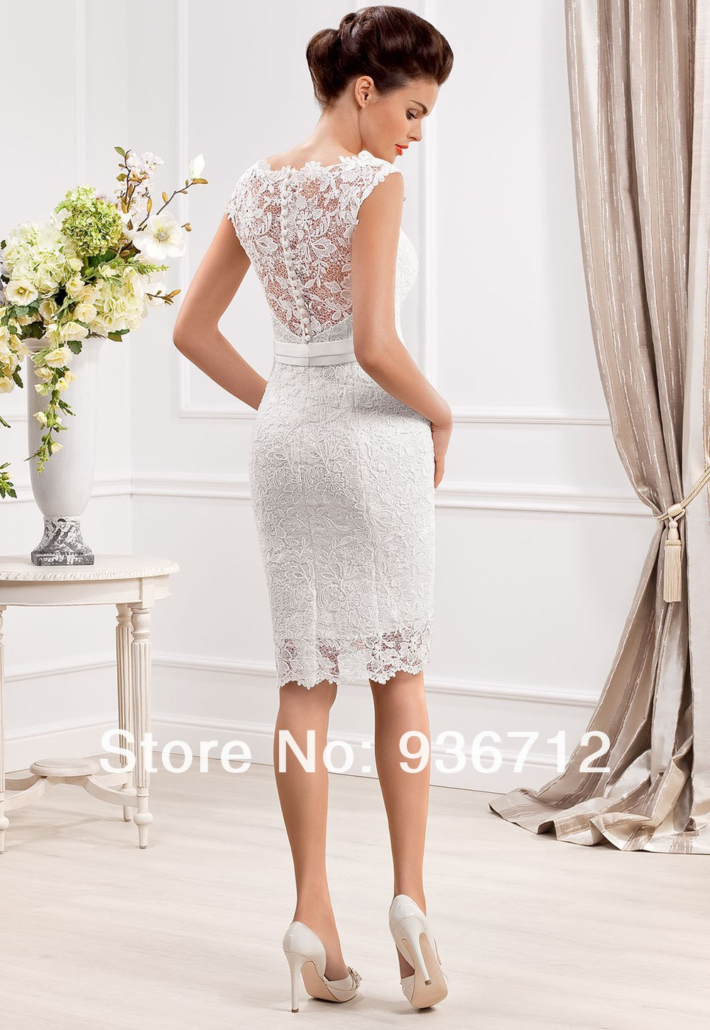 Short Designer Wedding Dresses lingerie wedding dress