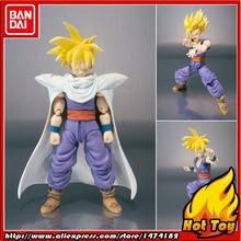 """100% original bandai tamashii nações s. h. figuarts (shf) figura de ação super saiyan filho gohan de """"dragon ball z"""""""