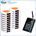 1 transmitter 20 pagers 2 charger Wireless coaster pager Restaurant guest paging system