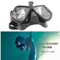 Gopro acessórios para gopro hero 2/3/3 +/4 sjcam sj4000/5000/6000 xiaomiyi natação óculos máscara de mergulho de montagem para a ação câmera cam