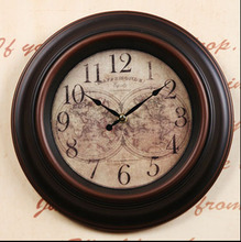 "021030  12 ""fashion wall clock bedroom living room office mute clock supe contracted creative quartz clock"