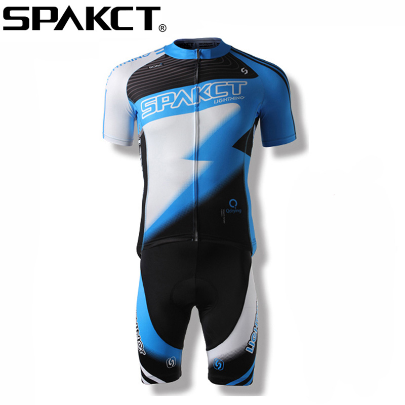 SPAKCT Men Cycling Clothing Quick-Dry Racing Bike Jersey/ Bicycle Cycle Clothes Ropa Ciclismo Cycling Jersey breathable quick dry bike ropa ciclismo skintight short sleeve cycling jersey clothes gel pad bicycle cycling clothing