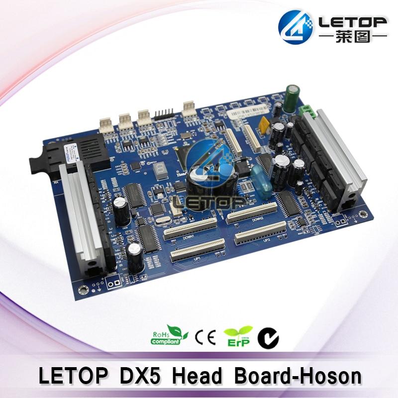 Три месяца гарантии! Высокое качество Hosen DX5 печатающей головки доска для эко-принтер растворителя