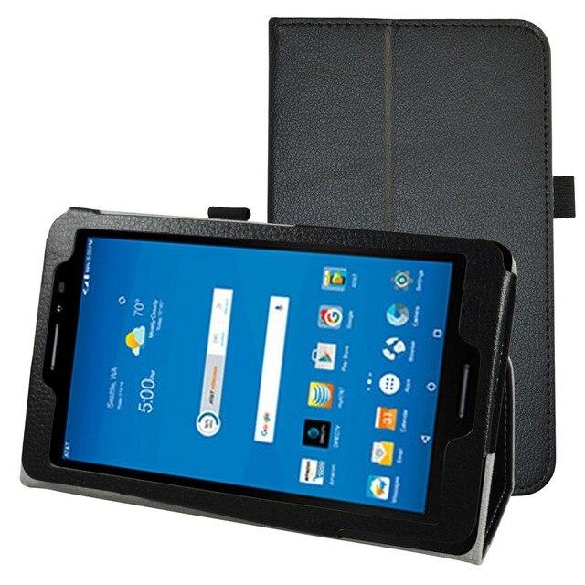 """새로운 폴리오 커버 스탠드 플립 pu 가죽 충격 방지 case 8 """"AT & 트렉 2 HD 6461A 4 그램 LTE 안드로이드 태블릿 2016"""