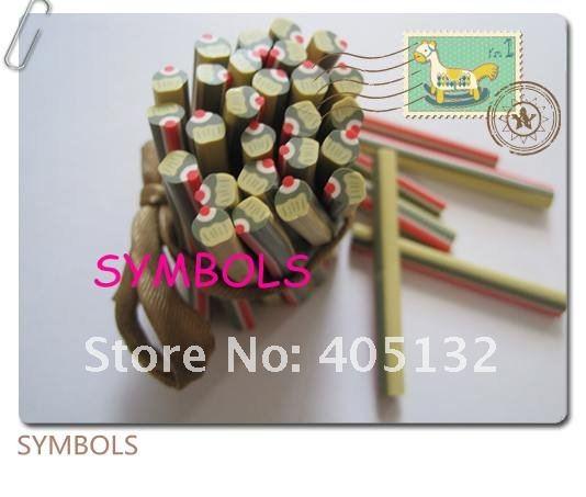 M-11 100 шт 5 мм Форма для капкейков глиняный тростник необычный дизайн ногтей Полимерная глина трость