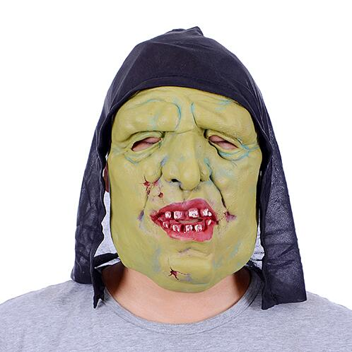 scary devils monster latex mask witch ghost mask terror halloween mascara horror cosplay masquerade fancy costume
