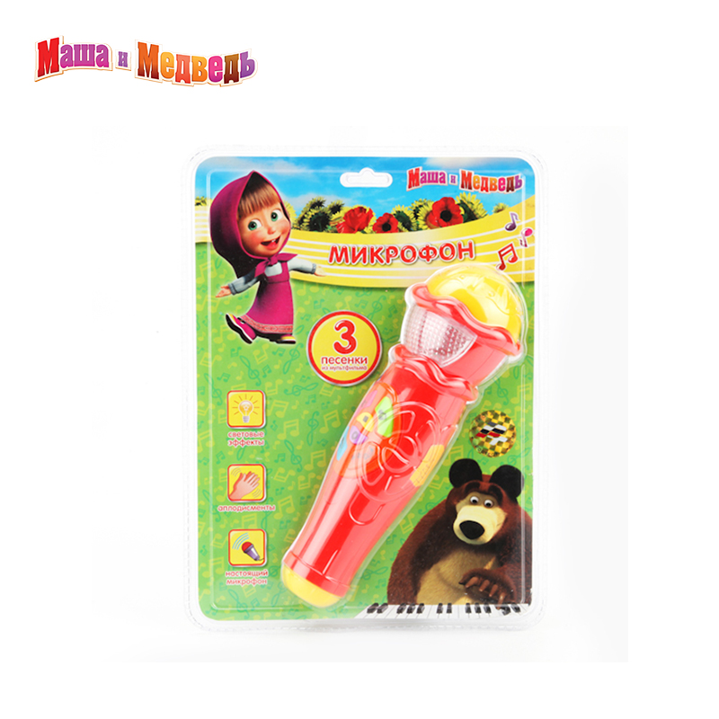 Toys For Boys Amp Girls : Microphone masha and the bear singer toys for boys