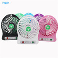 New Portable  plantain-leaf Fan Cute Mini USB Port Removable Lithium Battery Charging Desktop Small Cool Fan with retail package