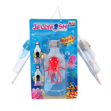 Funny Toy Magical Magic Smile Jellyfish Float Science Toy Gift For Children Kids Randomly