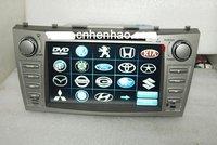 высокой в качестве HD чеки колесо 2 Дин 8 дюймов в DVD-плеер автомобиля с GPS навигации цтв стандарта DVB-т / ибр-T для Камри руль управления