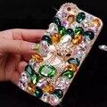 Роскошные Раскрашенная Diamond Bling Телефонов Дело Блестящий Горный Хрусталь Задняя Крышка Коке Fundas Для Huawei G610 C8816 C8817L P9 Честь 5X