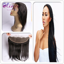 10A Sunny Hair Brazilian Straight Lace Frontal Closure Middle Free part 2 Option,13*4 Virgin Human Hair Ear to Ear Lace Frontal