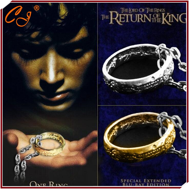 product The Lord of the circle gold circle The European and American film and television the ring ring adorn article