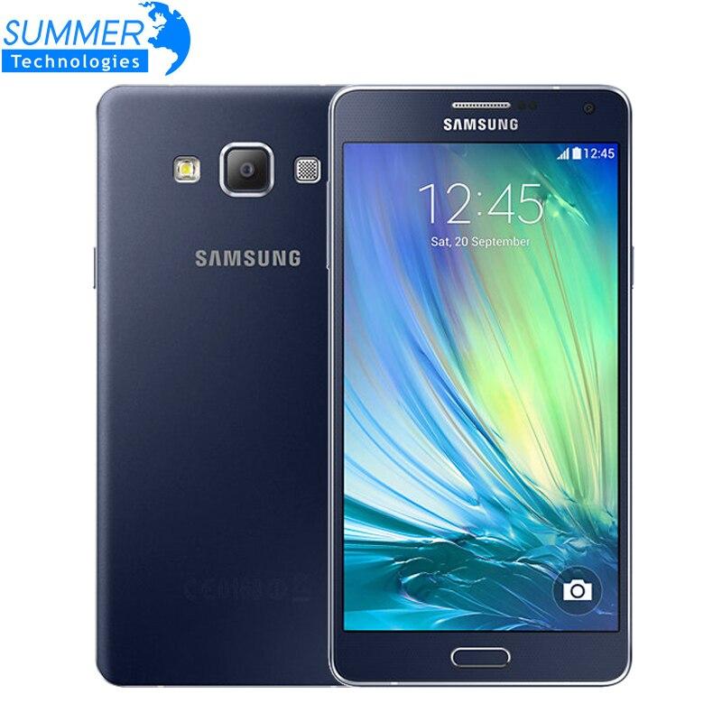 Цена за Оригинальный Samsung Galaxy A7 A7000 Мобильный Телефон Dual SIM 4 Г Octa core 13MP Камера 5.5 ''1080 P 2 Г RAM 16 Г ROM LTE Смартфон