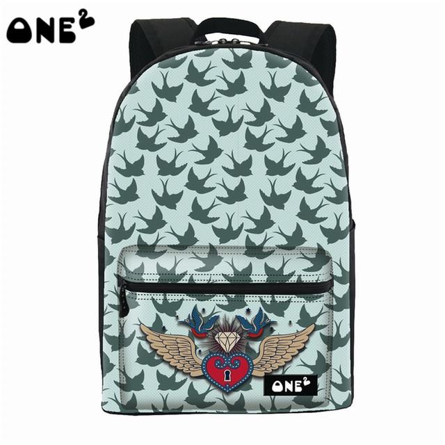 2016 ONE2 design decorative pattern girls beautiful travelling ...
