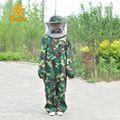 Wholesale Combinaison Apiculture Protective Beekeeping Suits Camouflage Beekeeping Protective Clothing Free Shipping