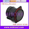 Nuevo Sensor de Flujo de Masa de Aire uso OE No. 28164-3C100 para Kia Hyundai