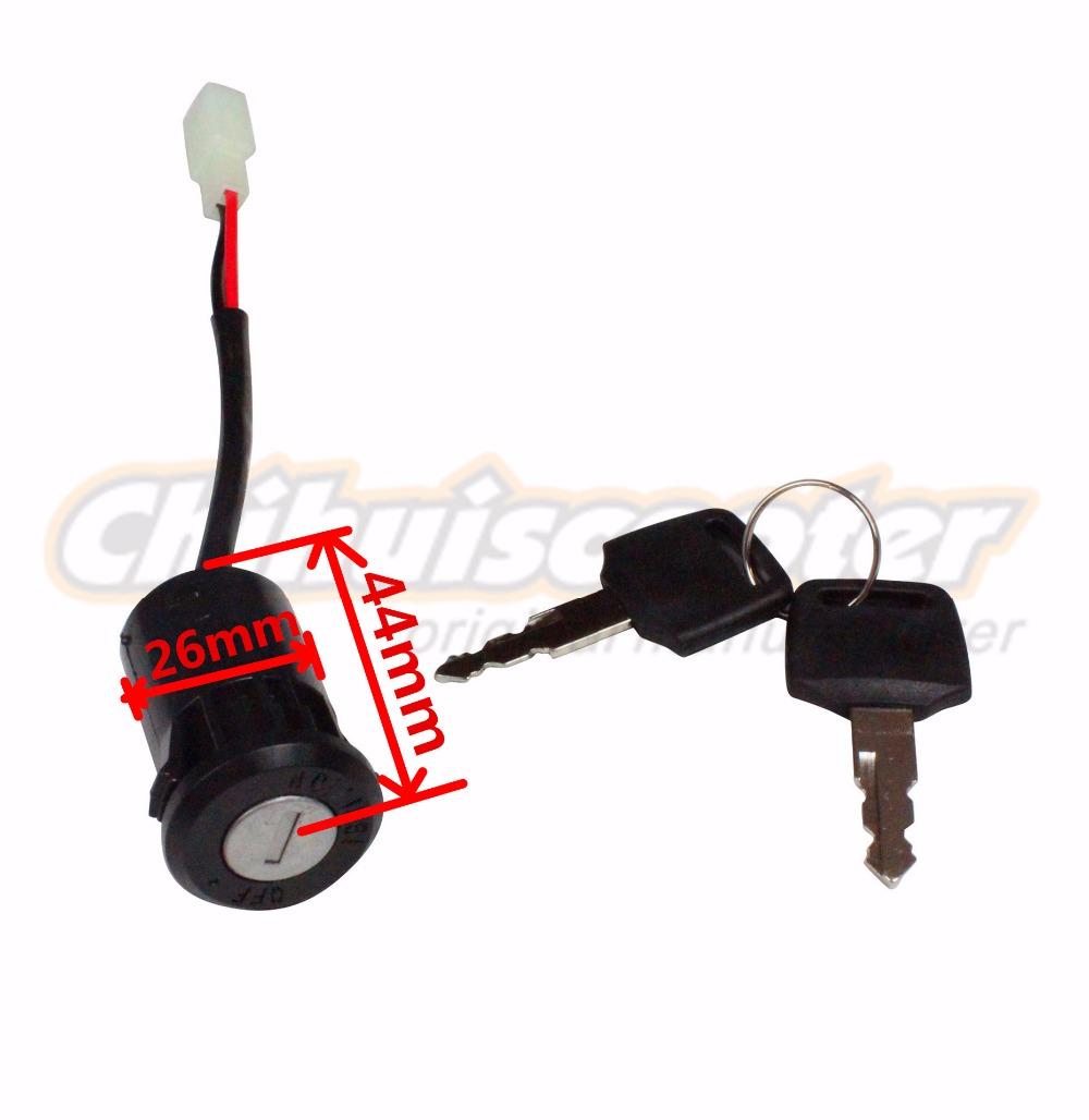 Electric Scooter Key Switch Electric ATVs On off Switch ...