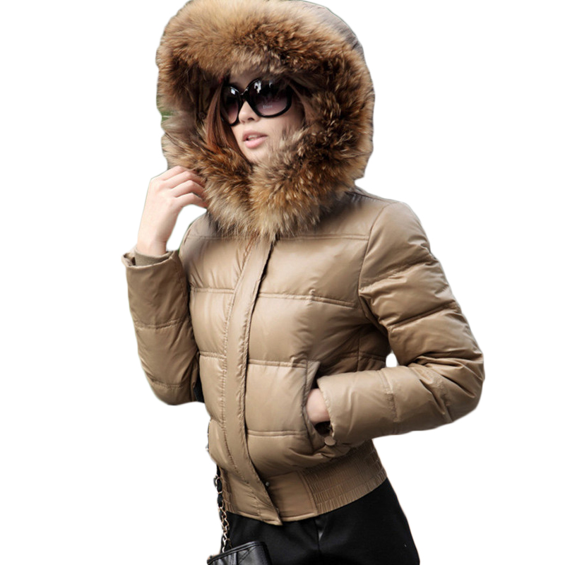 Chaud Col 2019 Court khaki Nouvelle Mode Hijklnl Raton Doudoune Manteau Laveur Fourrure De Femmes Veste Black Dx651 Réel Grand D'hiver 6Zxfwxqv