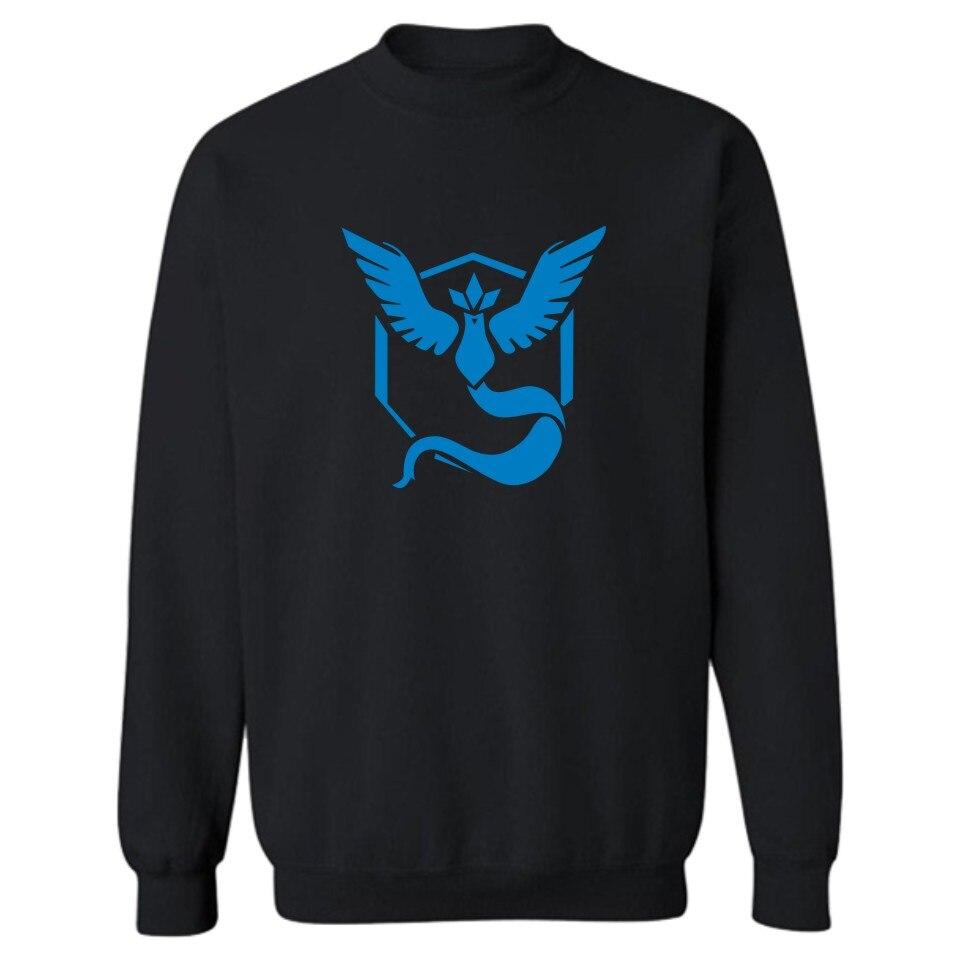Hot Sale! Game Pokemon Go Sweatshirt Men Streetwear in Pokemongo Mens Hoodies and Sweatshirts Hip Hop 4XL