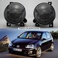 Frete Grátis Para VW Golf 5 GTI MK5 2004-2009 luzes de Nevoeiro Luzes de nevoeiro Com Lente Convexa apto para volkswagen golf 5/golf 5 GTI