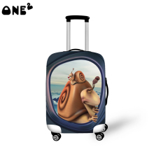 ONE2 design fashion style 22,24,26 inch custom any logo and material nylon plastic protective luggage cover