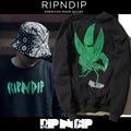 Ripndip Women Fashion Hoodies Cannabina Printing Ripndip Sweatshirts Pocket Pussy Hip Hop Top Brand Ripndip Harajuku Pullover