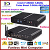 8G RAM 128G SSD 500G HDD Core I7 5500U Fanless Pc Intel HD 5500 Graphics Dual
