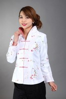 burgundy быстрая бесплатная доставка новых женщин шелк атлас куртка Benny embroidey цветы пальто размер СМЛ хl ххl XXXL осенняя млн 0051