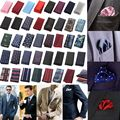 Fashion Men's Pocket Square Polyester Fashion Handkerchief Towel For Accessories Formal Geometric Hankerchief Xmas Gift