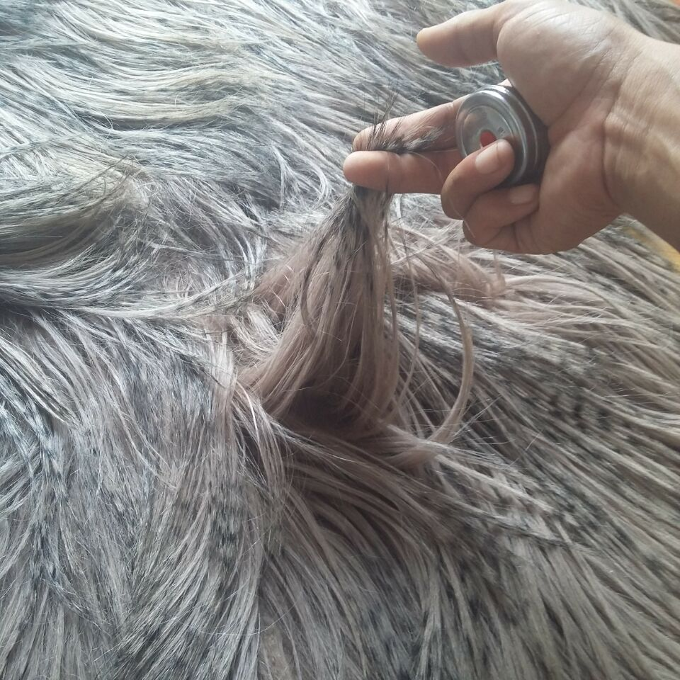 Tibet Sheepskin Plate / Tibetan Long Hair Goat Fur / Long Hair Goat Fur
