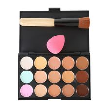 15 Colors Natural Professional Concealer Palettes makeup Foundation Facial Face Cream Cosmetic contour palette concealer palette