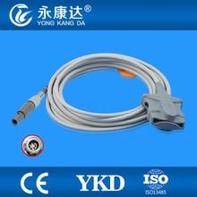 Mindray PM9000/MEC 100 Adult Soft Tip spo2 sensor, 6pins