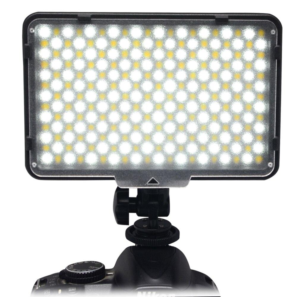 Mcoplus 322 LED Camera Video Photo Lighting Light Bi-Color Temperature Adjust 3200K-7500K for DV Camcorder & Digital SLR Camera