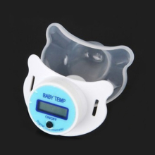 3.5 Digits Health Monitors Baby Nipple Thermometer Baby Pacifier LCD Digital Mouth Nipple Pacifier Chupeta Termometro Testa
