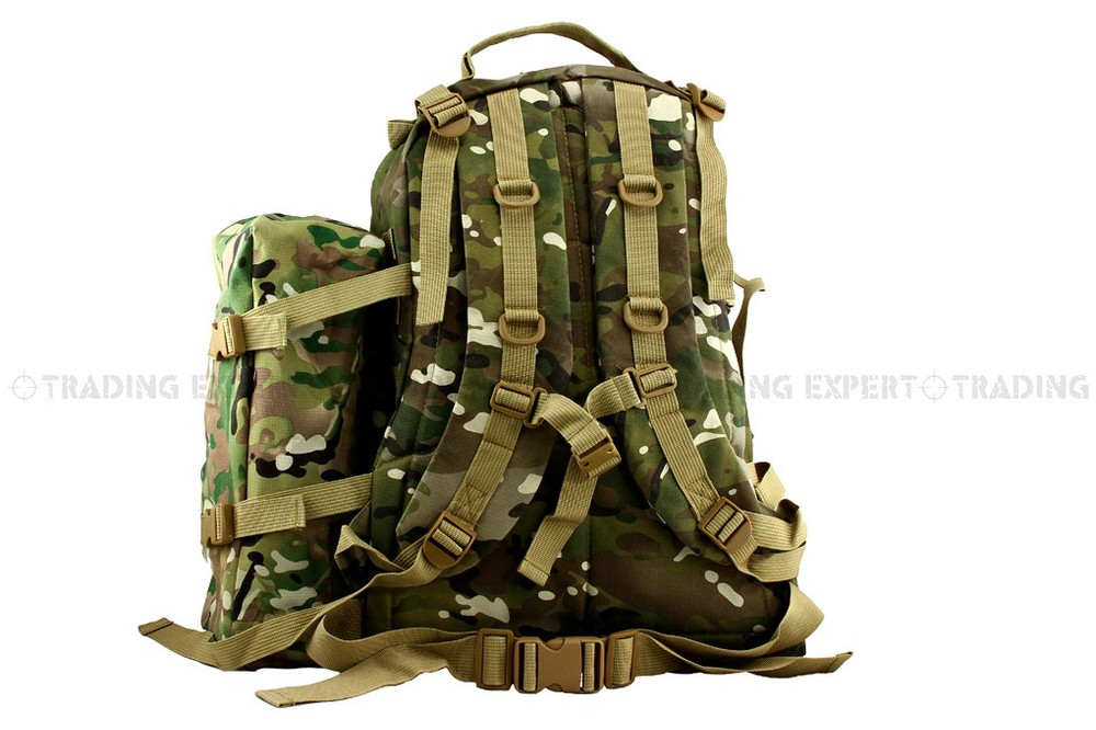 Camping & Hiking Outdoor Military Tactical Backpack Usmc 3d+1 Assault Backpack Bag Multicam cg-03-cp Sports & Entertainment