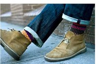 минимальный заказ $ 10 в розницу красочные ретро тотем народном стиле мужчины в трубке носки